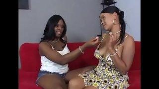 Black lesbians feeling the taste of a black pussy Vol. 9