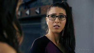 Geek Girl Creates Her Lesbian Lover