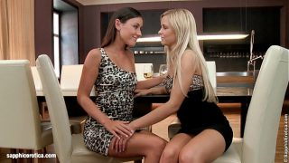 Lesbians In Vogue – by Sapphic Erotica lesbian sex with Lila Iwia
