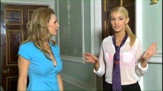 Schoolgirl is forced and seduced by a real lesbian www.freedirtyshow.com