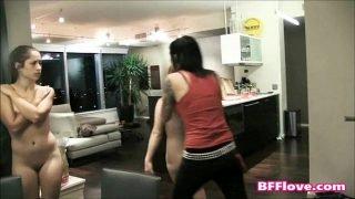 Teen Best Friends Pajama Party Lesbian Fuck Fest – BFFlove.com