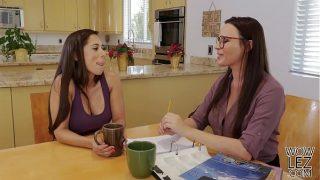 Tutoring turns into lesbian sex – Dana DeArmond and Reena Sky